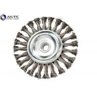 Buy cheap Flat Crimped Wire Wheel Brush for Metal Polishing Galvanized iron OEM Accepted from wholesalers