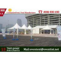 Buy cheap Luxury Camping  Pagoda Party Tent With Floor System Folding / Mosquito Net from wholesalers