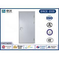 Durable Gray 1 Hour Fire Rated Door , 25MM Fire Seals Fire Rated Steel Door