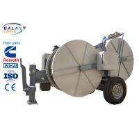 Buy cheap 3.5T Transmission Line Equipment Cable Pulling Oil Cooling System Total 2200kg from wholesalers