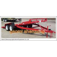 Buy cheap flat utility farm transportation trailer made in shandong from wholesalers