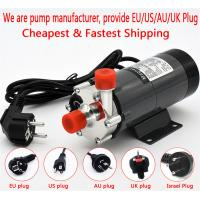 Buy cheap HomeBrew Pump MP-15R Food Grade 304 Stainless Steel Brewing 220V Magnetic Water Pump Temperature 140C 1/2 BSP/NPT from wholesalers
