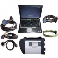 Buy cheap V2012.11 MB SD Connect Compact 4 Mercedes Diagnostic Tool with DELL D630 Laptop Support Offline Programming from wholesalers