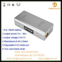Buy cheap new product cloupor mini 30w box mod mini 30 watt mod for sub-ohm tanks from china supplier from wholesalers