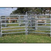 Buy cheap Dust Proof Galvanized Livestock Panels , Portable Cattle Panels Easy Maintenance from wholesalers
