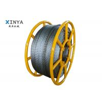 Buy cheap 18mm 210KN Breaking Load Galvanized Anti Twist Wire Rope Hexagon with 12 strands from wholesalers