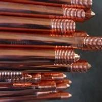 Buy cheap UL listed Solid copper earth rod for electrical grounding system from wholesalers