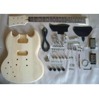 Buy cheap Basswood SG Style DIY Electric Guitar Kits Semi - finished Electric Guitar AG-SG1 from wholesalers