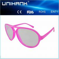 Buy cheap black plastic frame diffraction glasses laser glasses for party from wholesalers