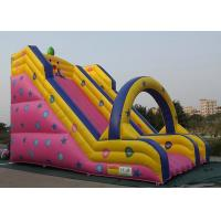 Buy cheap Customized Inflatable Outdoor Toys Long Slide Type For Kids Entertainment from wholesalers