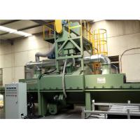 Buy cheap Footprint Automatic Roller Conveyor Shot Blasting Machine , H Beam Shot Blasting Machine For Steel Structures from wholesalers