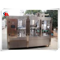 Buy cheap High Precision Automatic Bottle Washing Filling And Capping Machine 7.5KW Power from wholesalers