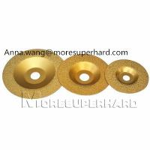 Buy cheap Vacuum Brazed Diamond Grinding Wheel,vacuum brazed granite edge for stone product