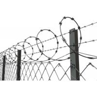 Buy cheap Single Coil Razor Barbed Wire Hot Dipped Galvanized Barbed Fence from wholesalers