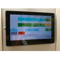 Power Over Ethernet Touch Screen Wall Display Door Intercom Device With Android System