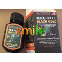 Buy cheap Original Ginseng Herbal Sex Capsule USA Black Gold Male Sex Pill Enlarge Penis from wholesalers