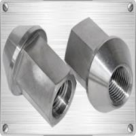 Buy cheap Gr5 titanium lug nut M12X1.25/1.5X27mm 6Al4V from wholesalers