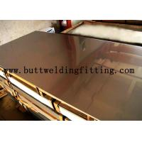 Buy cheap Hot / Cold Dipped Stainless Steel Plate 1000mm Wide With Alloy N04400 / 400 N00625 / 625 product