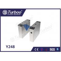 Buy cheap Intelligent Automatic Flap Barrier Gate High Speed With Smart Card Door product