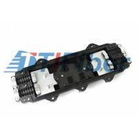 Buy cheap 4 Port 24 Core In Line Outdoor Fiber Splice Enclosure For Underground product