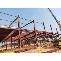 Buy cheap Customized Industrial Steel Workshop Buildings High Durability And Stability from wholesalers