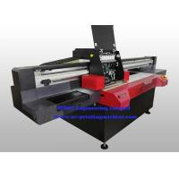 Buy cheap Professional Flatbed 3D UV Inkjet Printer , Wide Format Inkjet Printer With Varnish Printing from wholesalers