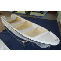 Buy cheap FRP 4.2m Sport Fishing Boats , Single 14 Ft Fiberglass Boat For Entertainment from wholesalers