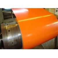Buy cheap Zinc Color Coated Galvanized Steel Coil , Galvanized Steel Panels DX51D Grade from wholesalers