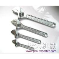 Buy cheap Adjustable wrench from wholesalers