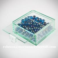 Buy cheap Customized clear plexiglass storage box hot selling acrylic candy  display box from wholesalers