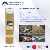 Buy cheap Acrylic Aerosol Line Mark Floor / Road Marking Spray Painting 750ml Weather Resistance from wholesalers