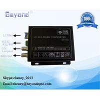 Buy cheap 3G-SDI with RS422 to fiber converter from wholesalers