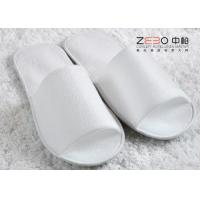 Buy cheap Home Hotel Disposable Slippers / Waffle Spa Slippers Open Toe Style from wholesalers