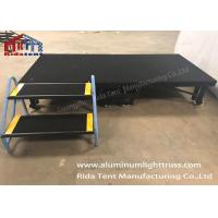 Buy cheap Anti - Slip Surface Folding Platform Stage , Portable Collapsible Stage With Carpet from wholesalers