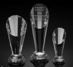 Buy cheap spotlight crystal award/2d laser engraving crystal trophy/3d laser engraving blank crystal from wholesalers