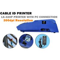 Buy cheap Handy electric cable id printer Number , Symbol wire label maker , 1.5 KGS from wholesalers