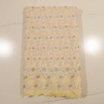 Buy cheap Beautiful Cream Organza Lace Fabric , Wedding Dress from wholesalers