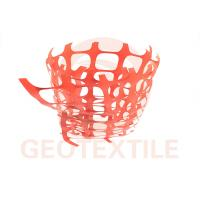Buy cheap 350 Lbs / Ft Plastic Security Fencing , 70 * 40mm Orange Plastic Temporary Fencing product