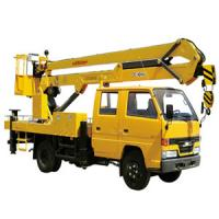 Buy cheap Truck Mounted Lift 9.7m , 2 Ton Truck Mounted Aerial Lift from wholesalers