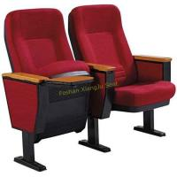Buy cheap Thailand Singapore Fold Up Seating Auditorium Chairs With Wooden Writing Pad from wholesalers
