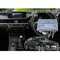 Buy cheap Android 7.1 Car Multimedia Video Interface For 2014-2018 Leuxs Es 250 Knob Control from wholesalers