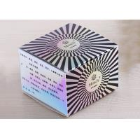 Buy cheap Hard Paper Cosmetic Packaging Boxes Plastic Diamond Surface Decoration from wholesalers