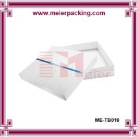 Buy cheap White paper box with top and bottom lid cardboard box custom design ME-TB019 from wholesalers