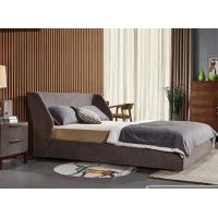 Buy cheap Durable Double Upholstered Bed , Home Furniture Fabric Bed Frame General Use from wholesalers