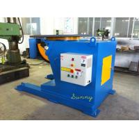 Welding Turning Table With 5ton Loading Capacity VFD Control By Hand Panel Control