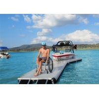 Buy cheap Y Shape Drop Stitch Inflatable Yacht Y Pontoon Platform For Boat Parking from wholesalers