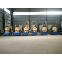 Buy cheap vertical ring die biomass wood pellet mill production line LSKJ550 1500kg per hour from wholesalers