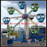 Buy cheap 8 cabins Fun fair games kids indoor mini ferris wheel for sale from wholesalers