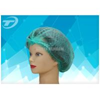 Buy cheap Hospital Nursing PP Disposable Mob Cap / Clip Bouffant Surgical Caps from wholesalers