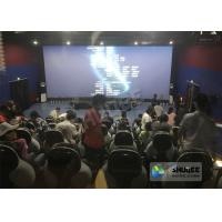 Buy cheap 220V 5D Motion Theater System , Luxury Electric 3DOF 5D Seats With Genuine Leather product